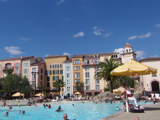 Loews Portofino Bay Hotel at Universal Orlando: Pool