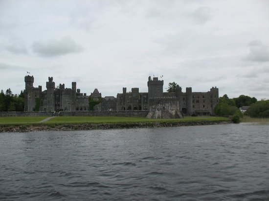 Ashford Castle: View from the lake