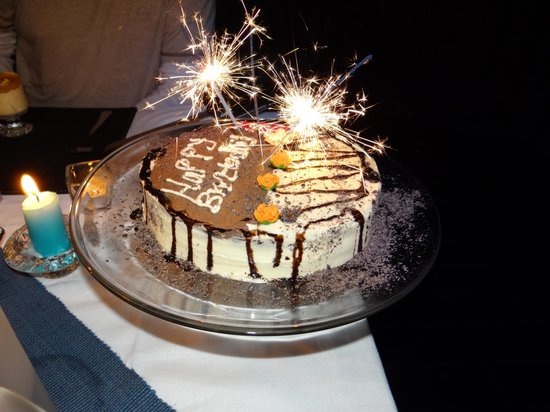 Naledi Bushcamp and Enkoveni Camp: My birthday cake