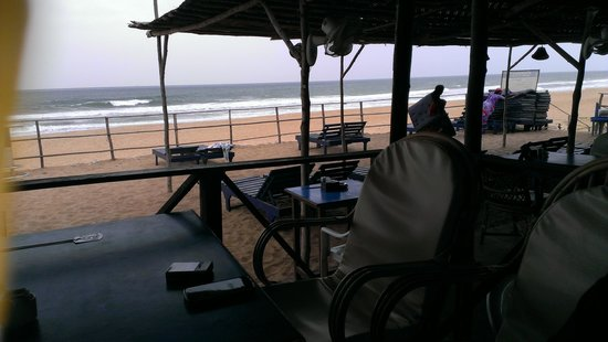 Santana Beach Resort: Calamari Beach Shack