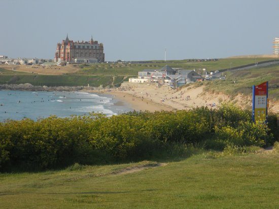 Fistral Beach Hotel: View from the window