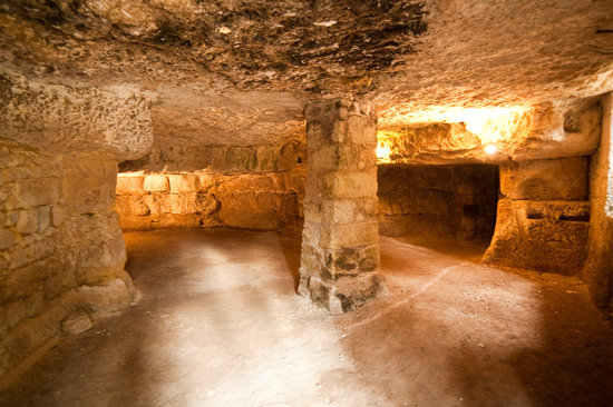 Chateau de La Celle Guenand: Caves at La Celle-Guenand