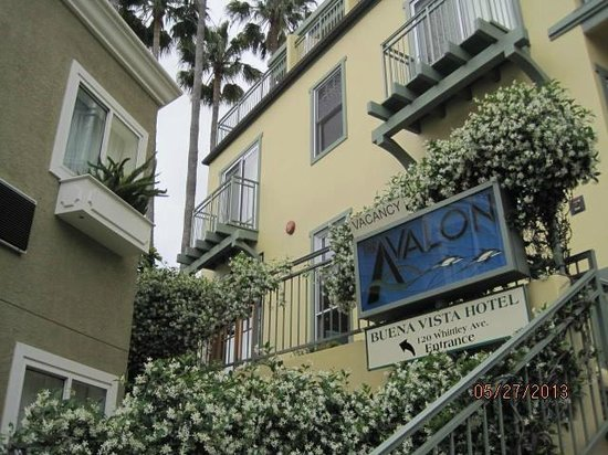 The Avalon Hotel on Catalina Island: The Avalon Hotel