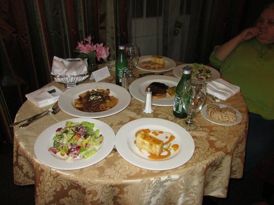 Royal Sonesta Hotel New Orleans: Room Service Dinner