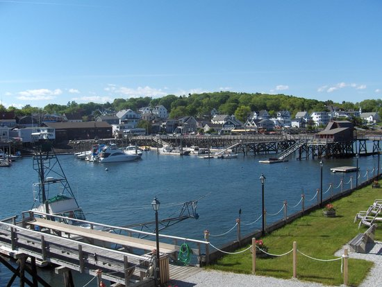 Boothbay Harbor Inn: Beautiful views