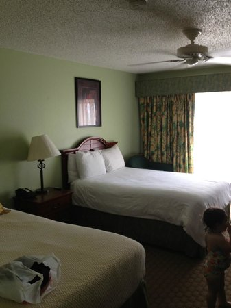 Chesapeake Beach Resort: Oceanview Room