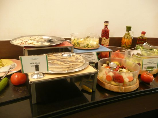 Novotel St Petersburg Centre : Small section of breakfast buffet