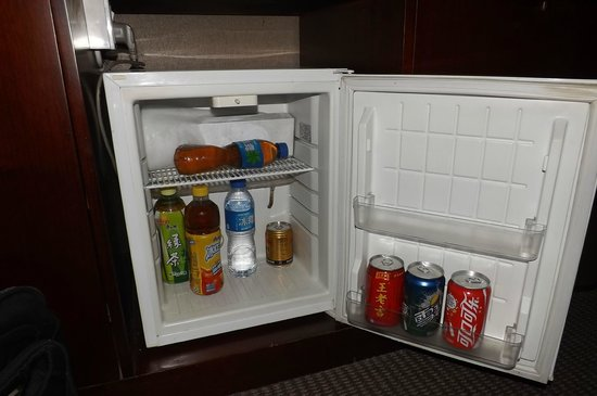 Hotel Majesty (Long Ding Hua Hotel): mini bar