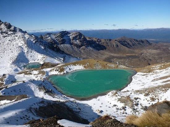‪‪Turangi‬, نيوزيلندا: Emerald Lakes - Tongariro Alpine Crossing‬