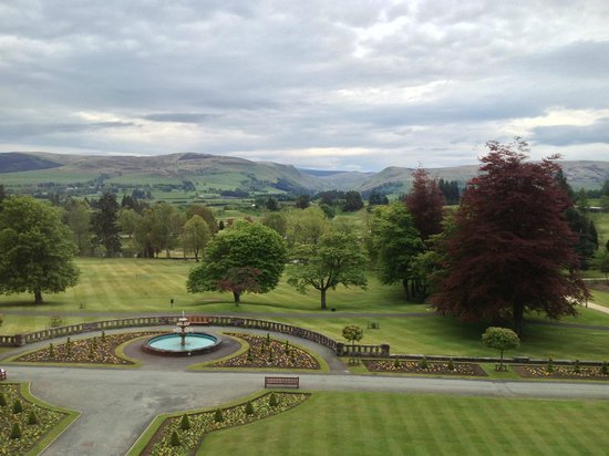 Auchterarder, UK: View from room