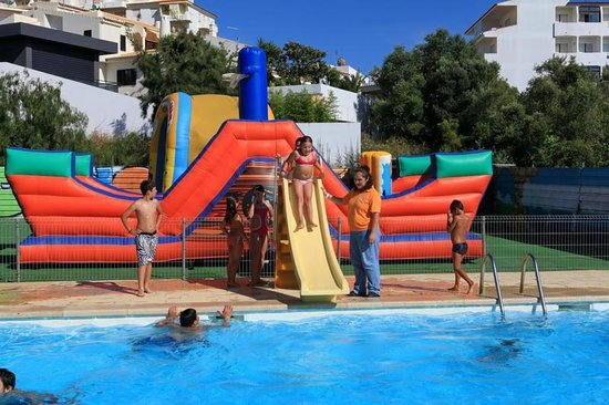 Big Pirate Ship Bouncy Castle Picture Of Alvor Portimao Tripadvisor