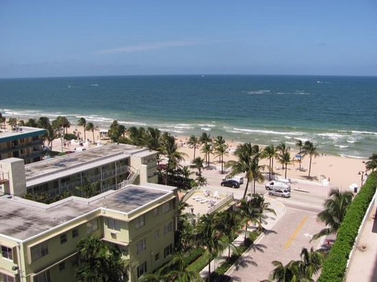 The Ritz Carlton Fort Lauderdale: View from Concierge Lounge