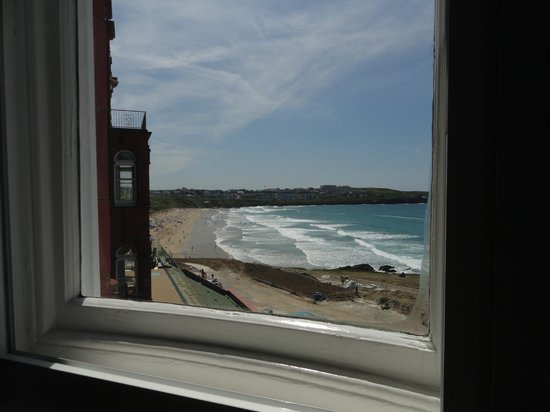 Headland Hotel - Newquay: Room 103 Fistral view