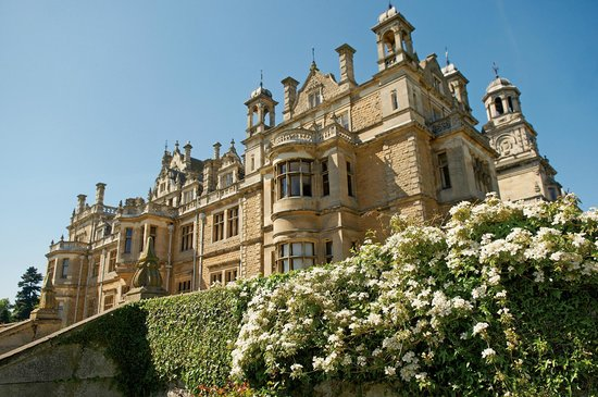 Nottinghamshire, UK: Back of Thoresby Hall Hotel