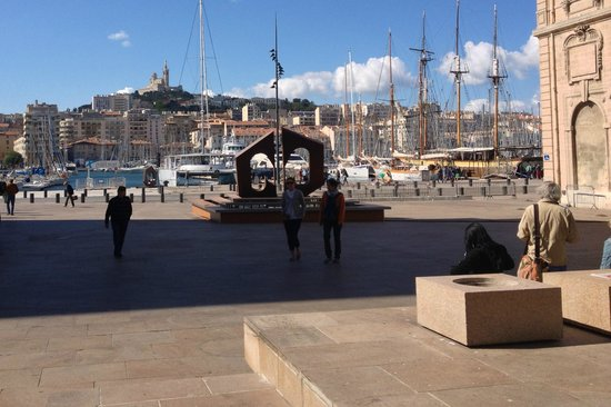 View of the old harbour 100 m from hotel picture of - Hotel ibis budget marseille vieux port ...