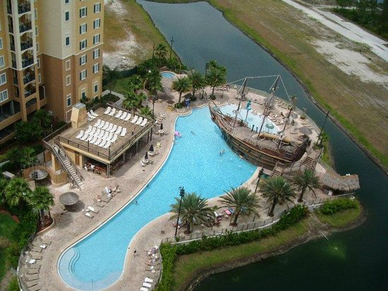 Lake Buena Vista Resort Village & Spa: View from 14th Floor