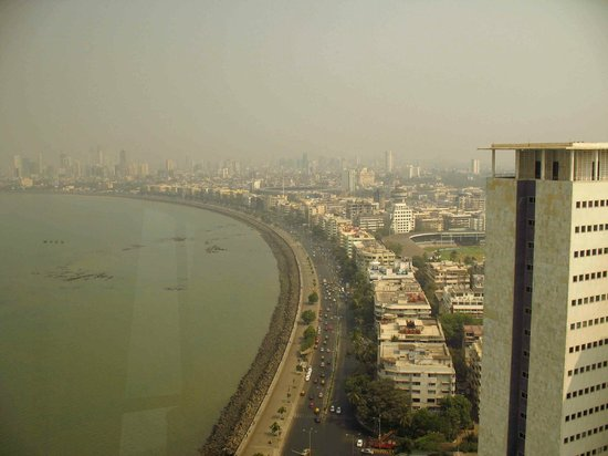 Trident, Nariman Point: View of Marine Drive from the hotel