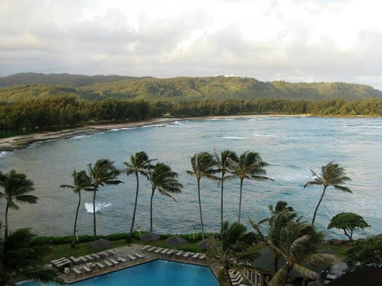 Turtle Bay Resort: View from our room (665)