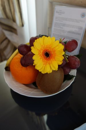 Barocco Hotel: Corbeille de Fruits