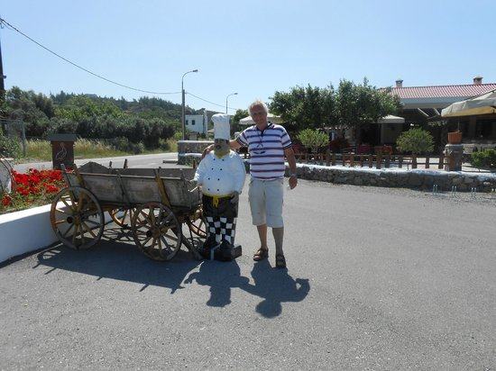 Gennadi, Greece: Touriste affamé
