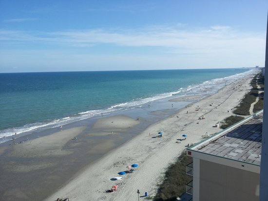 Westgate Myrtle Beach Oceanfront Resort: oceanview room 27th floor