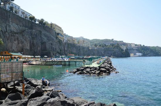 Villa Oriana Relais : View of Sorrento shore