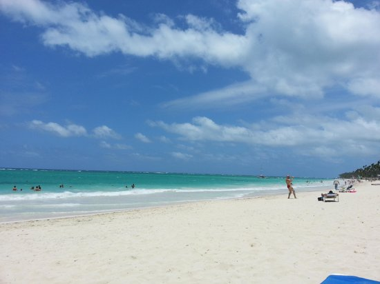 Occidental Grand Punta Cana: gorgeous beach
