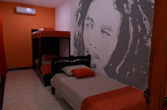 bob marley themed room picture of zleeping hostel santa marta