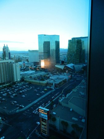 Elara, a Hilton Grand Vacations Hotel - Center Strip : View from room looking toward the Strip