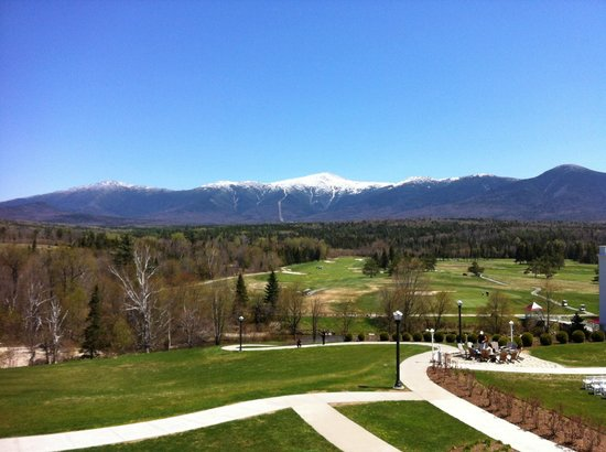 Bretton Woods, NH: view from room window