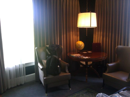 The Governor Hotel: Picture of the comfy chairs