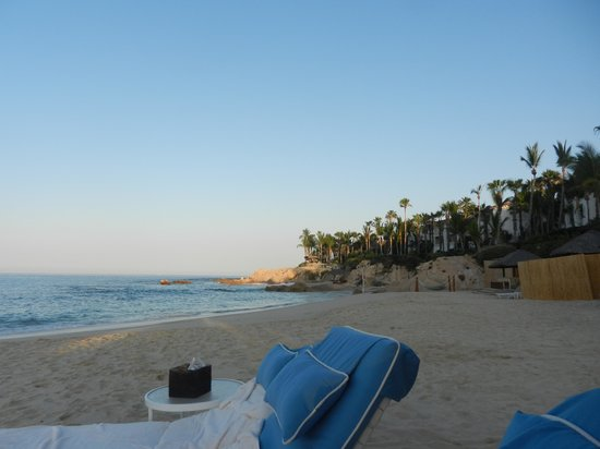 One & Only Palmilla Resort: view from swimmable beach