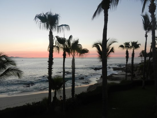 One & Only Palmilla Resort: sunrise from our terrace