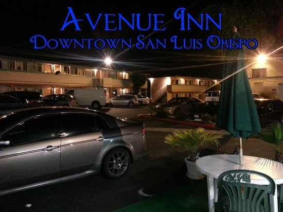 Avenue Inn Downtown San Luis Obispo Hotel & Grounds