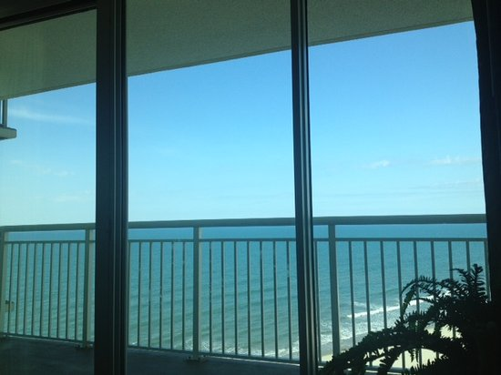 Avista Resort: The view from our bed