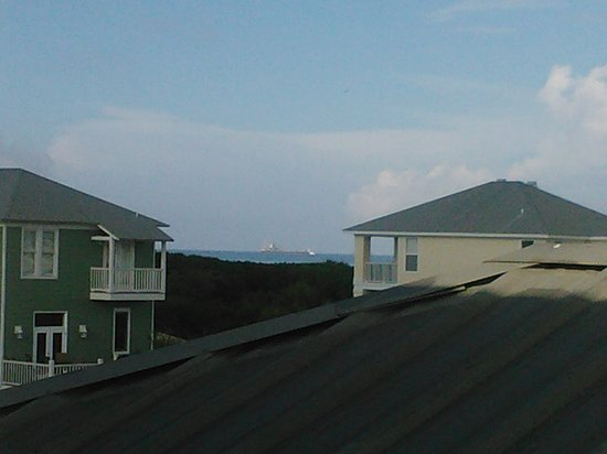 Kiva Dunes Resort: view from Decked Out beach home in Kiva Dunes