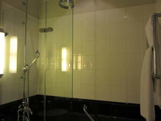Sofitel London St James: Shower - 1/2 a door.