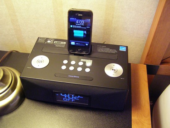 Lord Elgin: My favourite find: the alarm clock radio that charges my iPhone!