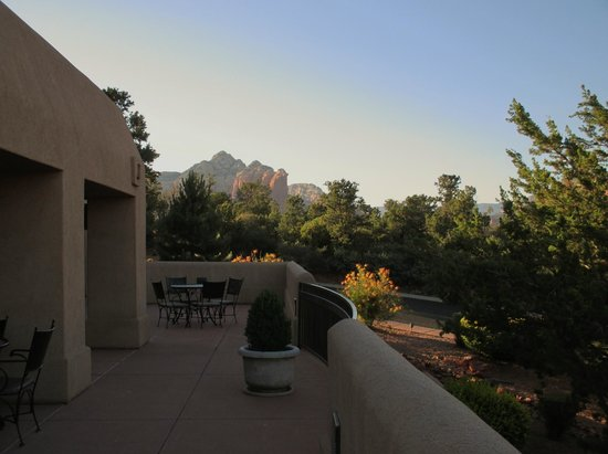 BEST WESTERN PLUS Inn of Sedona: Views outside our room