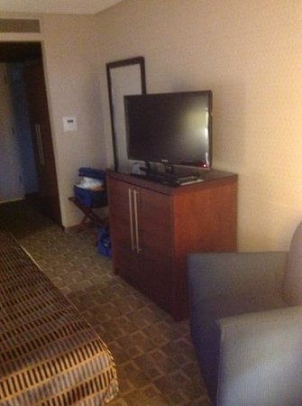 Hyatt Regency Montreal : hd tv with chair