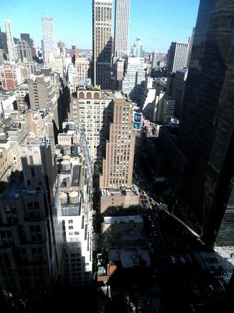 The New Yorker Hotel: Incredible views from room