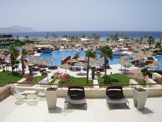 Sensatori Sharm El-Sheikh by Coral Sea: view from lobby terrace
