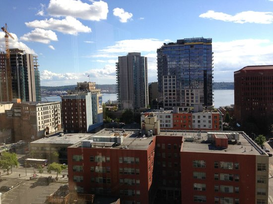 Warwick Seattle Hotel: Beautiful downtown Seattle views