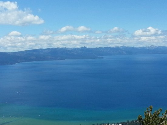 Americas Best Value Inn - Casino Center Lake Tahoe: South Lake Tahoe - View From Gondola ride in town