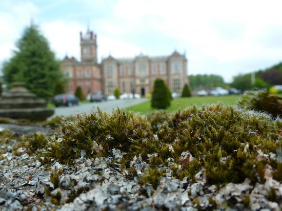 Crewe Hall from the Entrance Gate