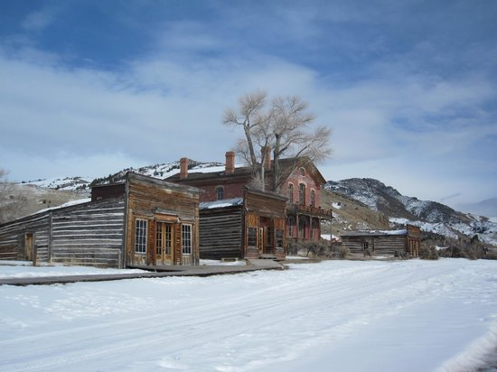 Dillon, MT: Deserted in winter