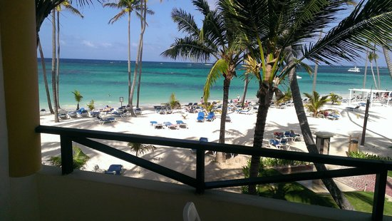 Barcelo Dominican Beach: View from our balcony