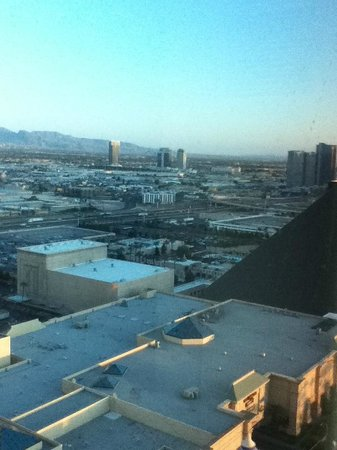 Mandalay Bay Resort & Casino: View from room NW Las Vegas