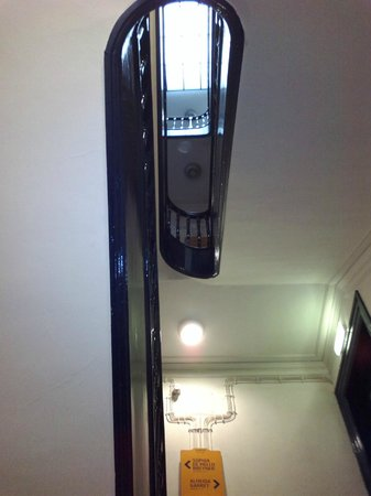 Gallery Hostel: the stairs