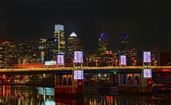 Philadelphia Skyline, Photo by J. Fusco for GPTMC